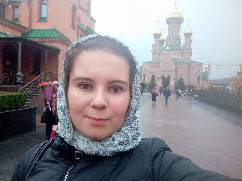 Алла в монастыре в Голосеево в Киеве