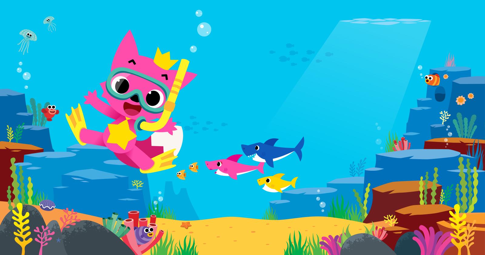 Известный клип на детскую песню Baby Shark стал самым просматриваемым видео на YouTube