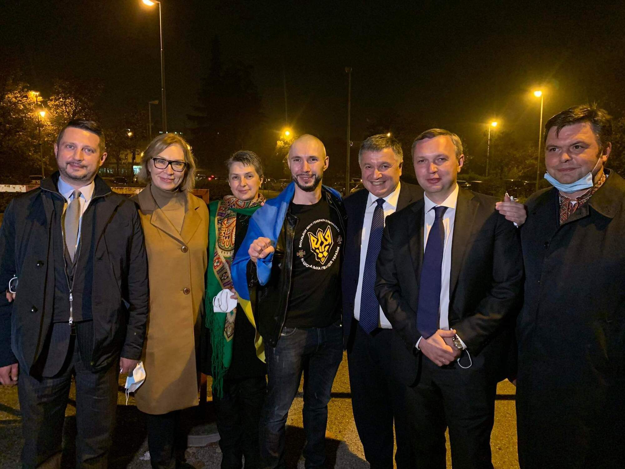 Марків із делегацією України