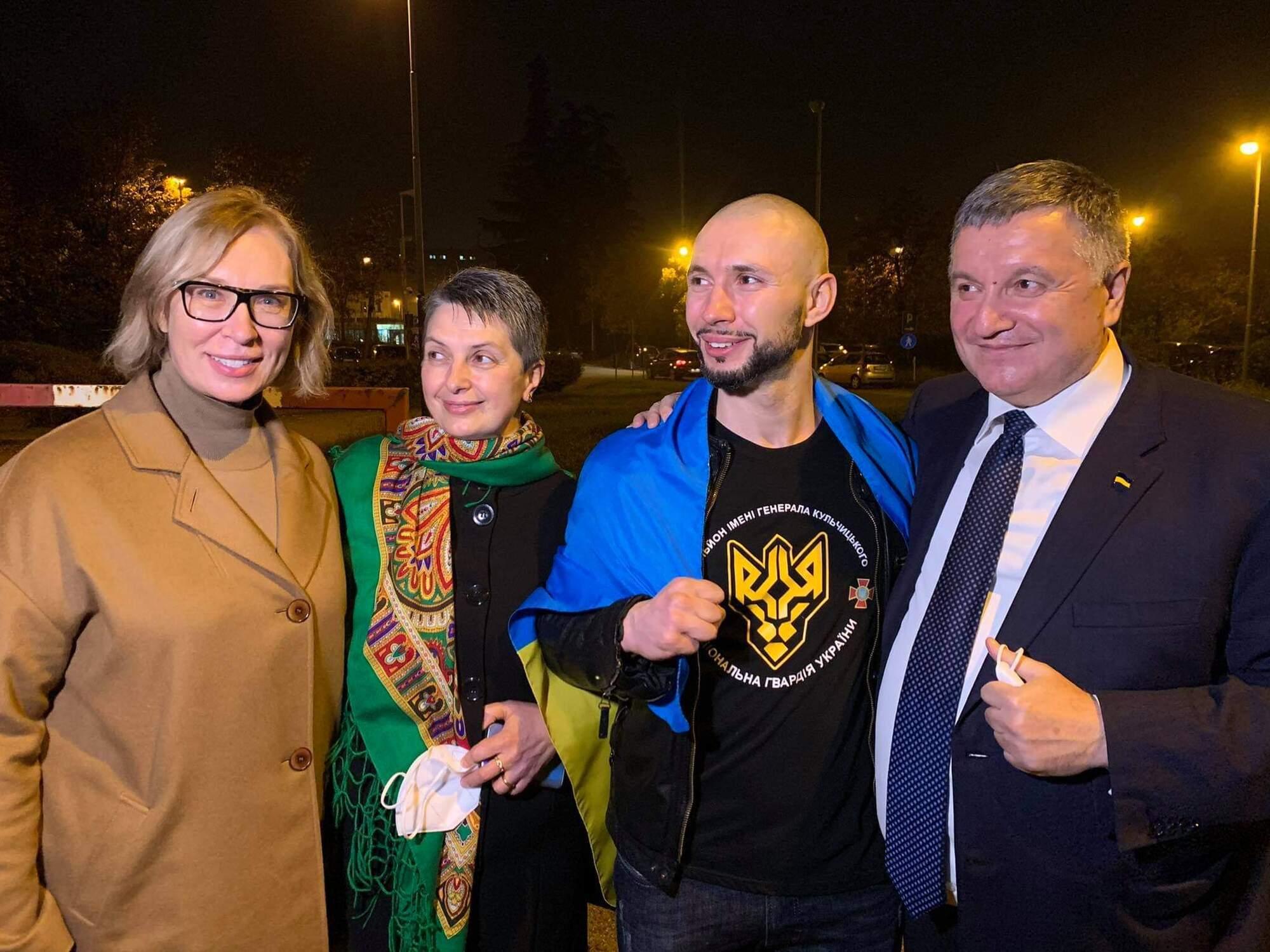 Звільнений українець