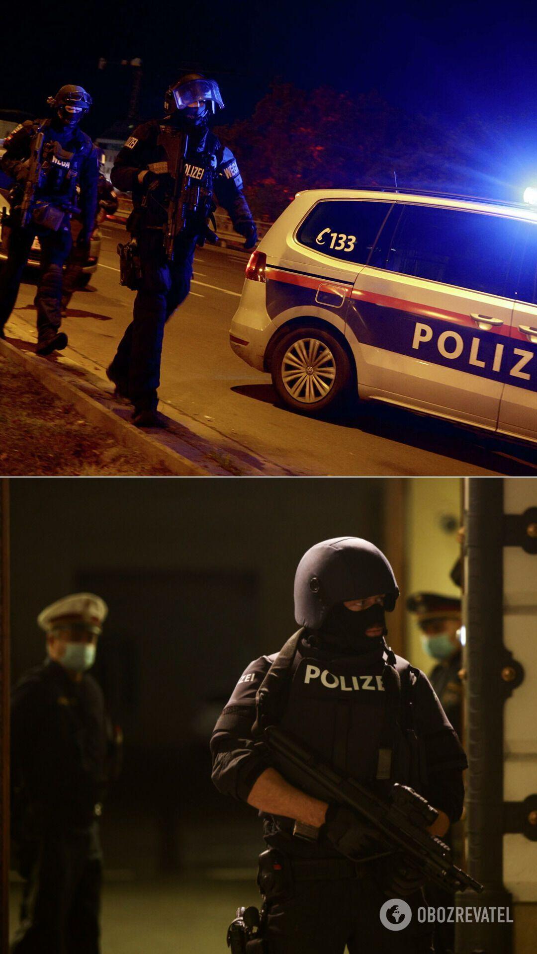 Австрійська поліція продовжує шукати ще щонайменше одного нападника