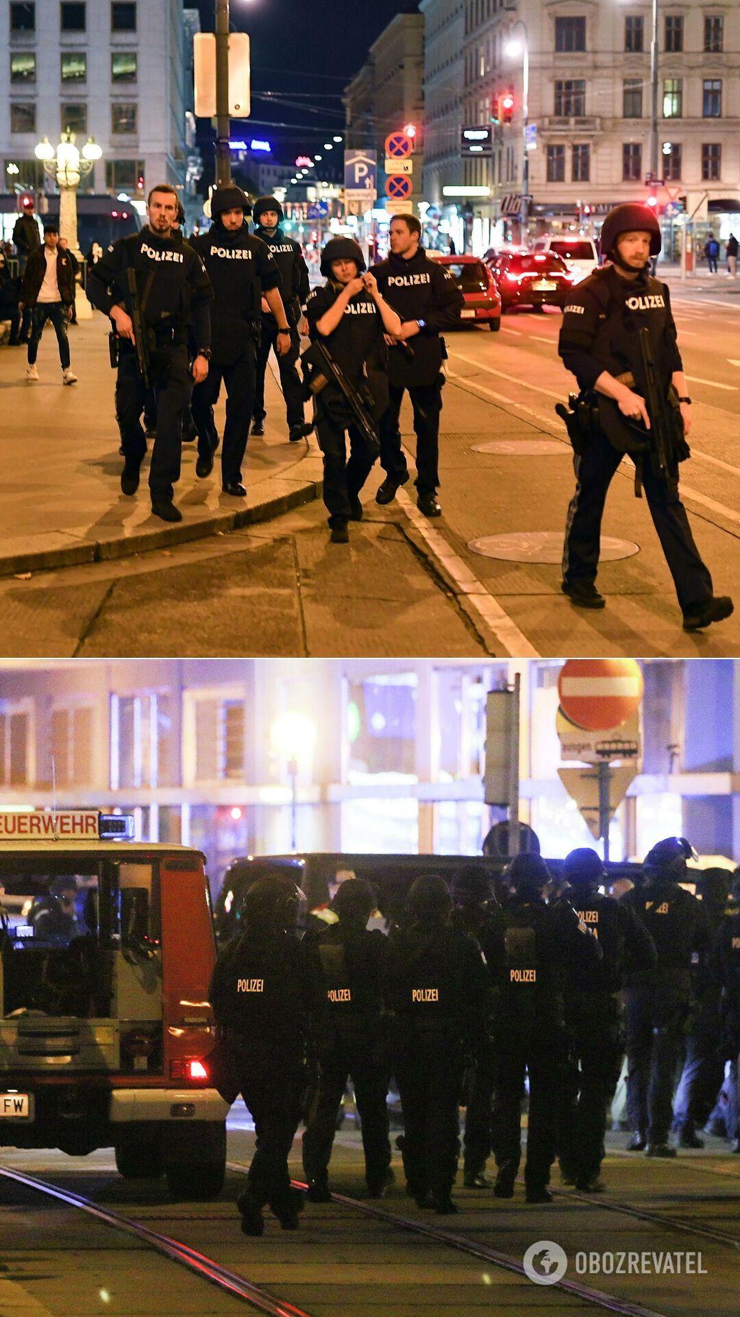 Відень патрулюють сотні правоохоронців