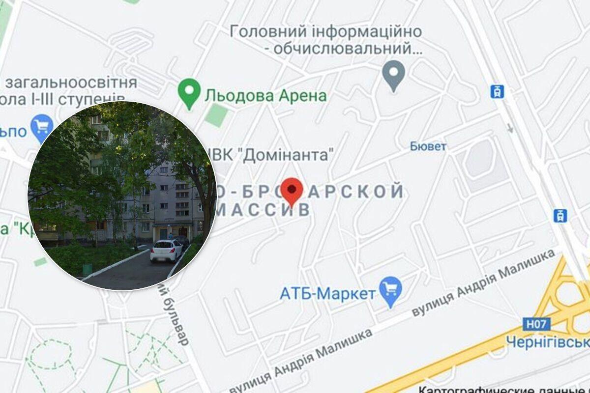 Грабеж произошел в Деснянском районе Киева