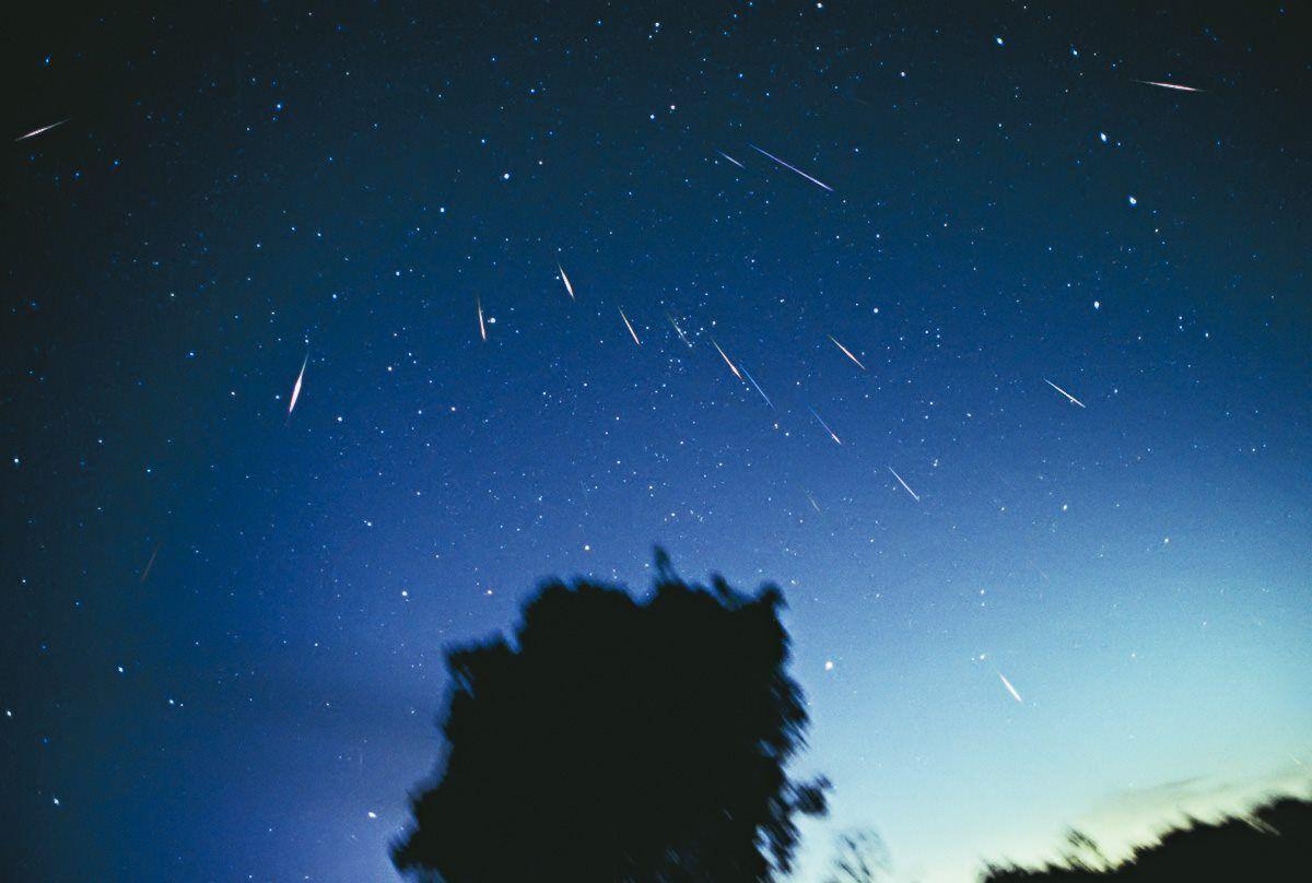 Леониды представляют собой яркие быстрые метеоры