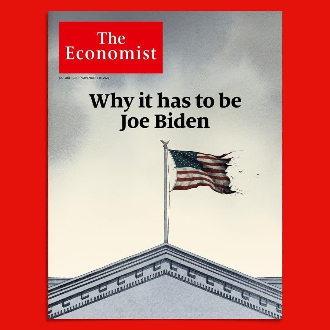 The Economist вышел с Трампом на обложке.