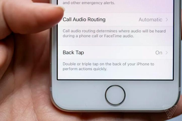 Функція Back Tap в iPhone