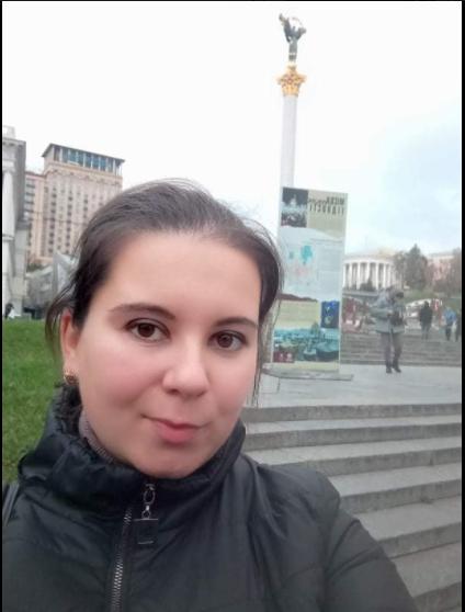 Последнее фото Аллы, сделанное незадолго до гибели прямо на Майдане