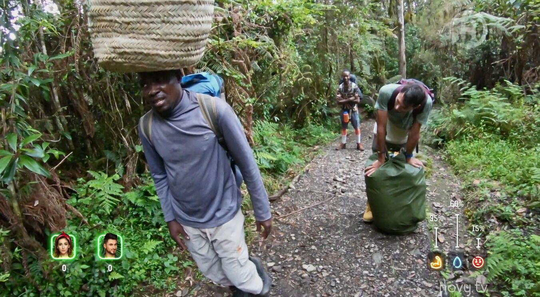 Українець виніс на Кіліманджаро 25 кг на голові.
