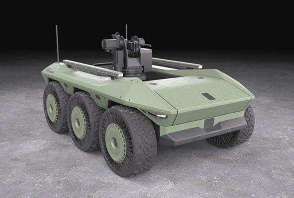 Робот MUGV
