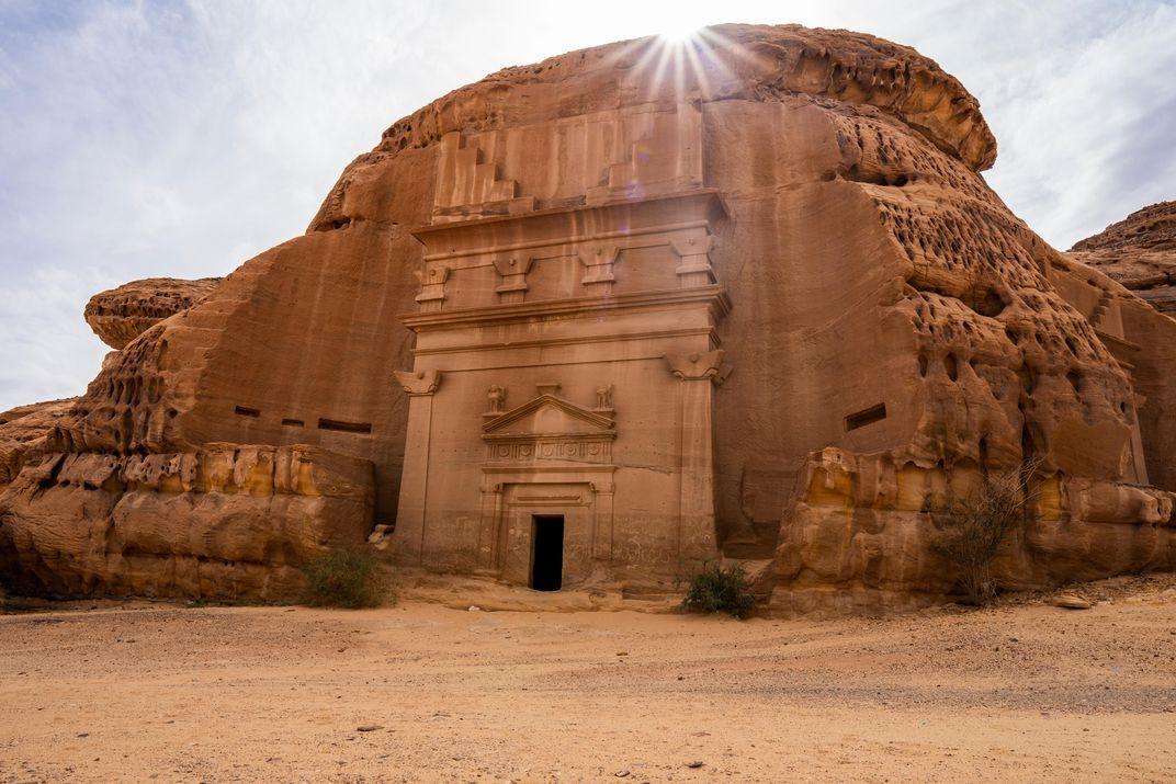 Стародавнє місто набатеїв Хегра