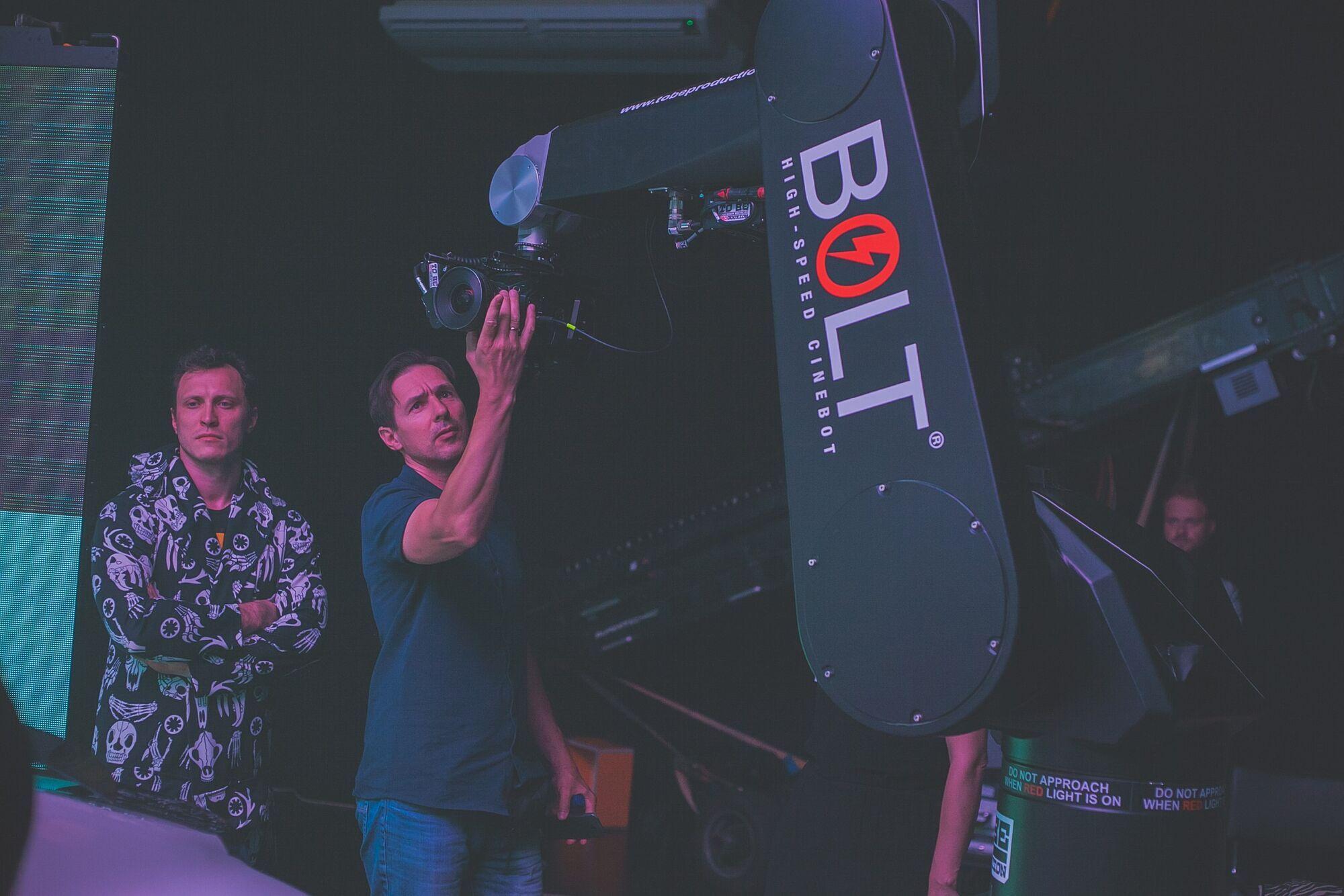 """Фільм """"Apple-Man"""": знімальний процес."""