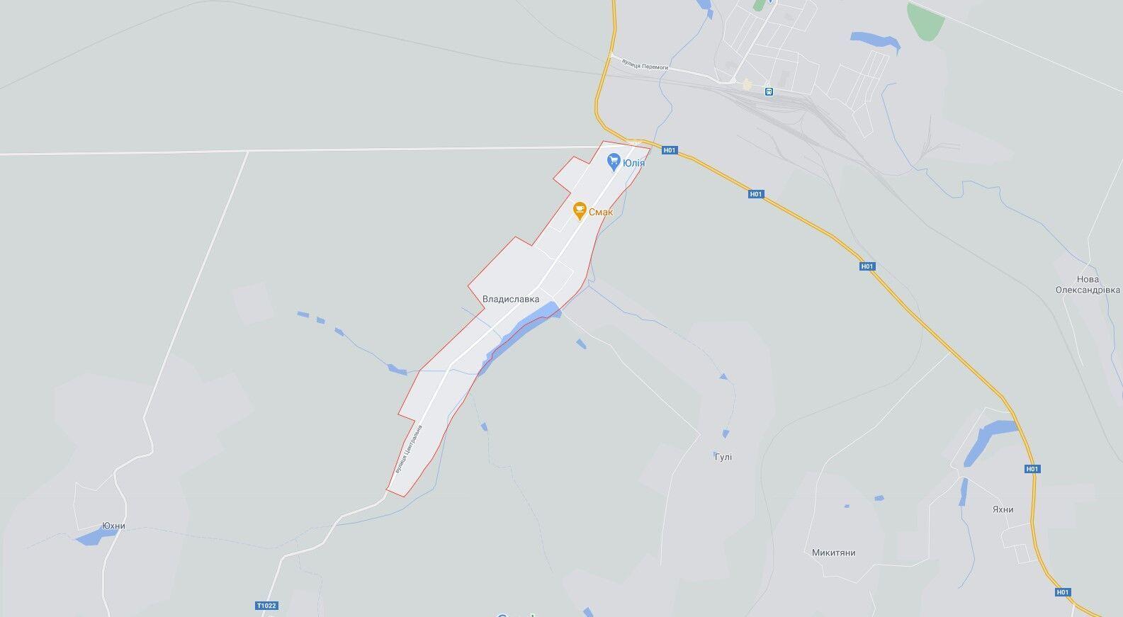ДТП сталася у селі Владиславка Київської області.