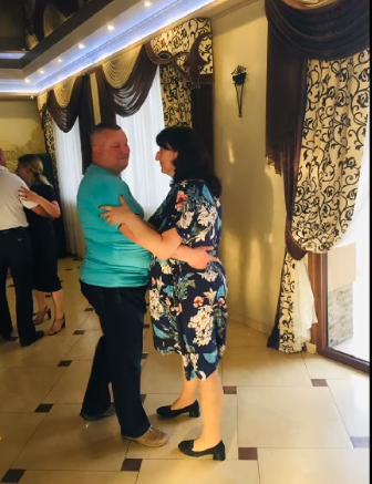 Маріанна і Степан під час свята.