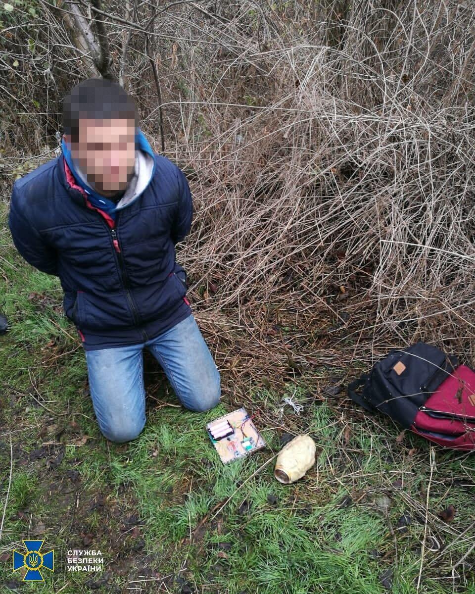 СБУ затримала мешканця Донецької області, який мав підірвати підстанцію розподілу енергії