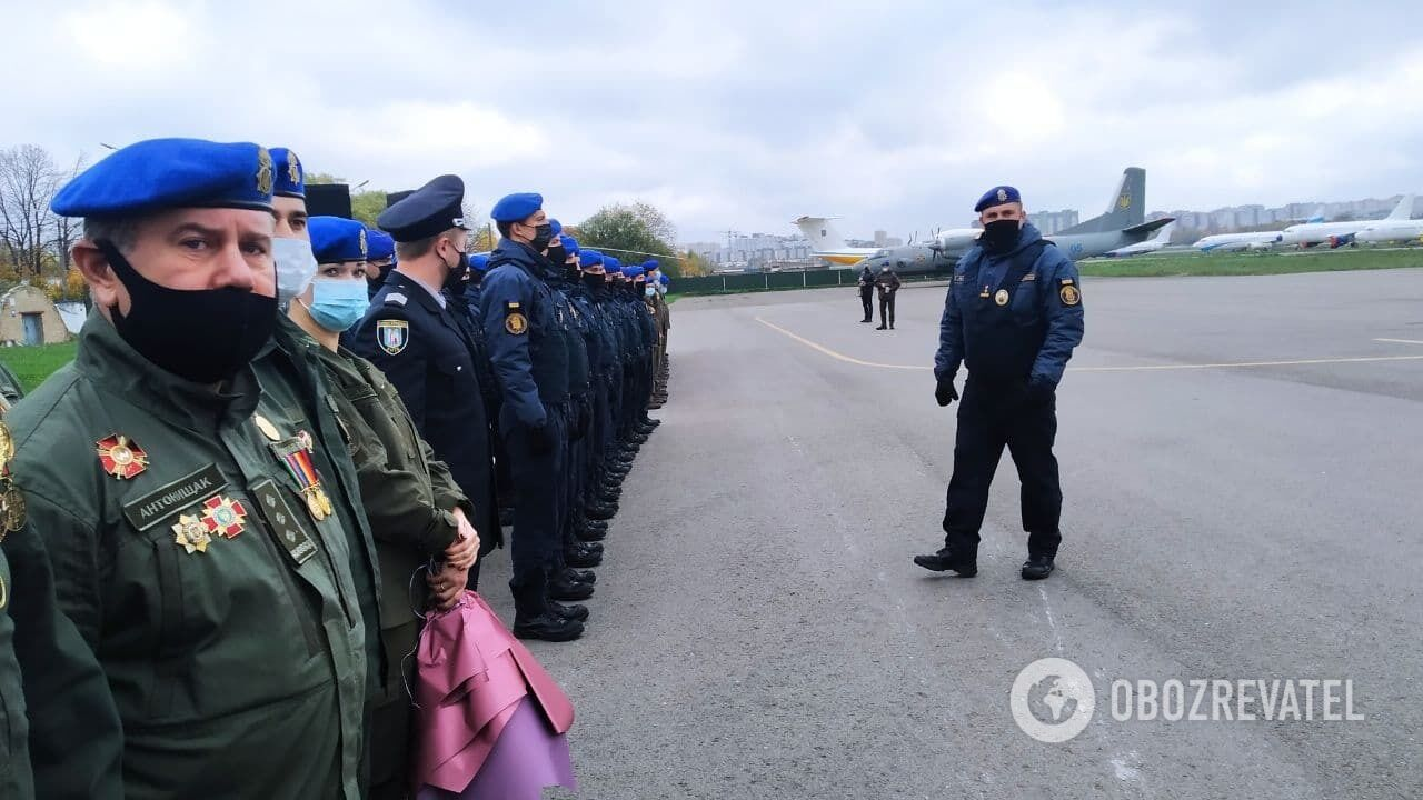 Марківа зустрічають у Києві.