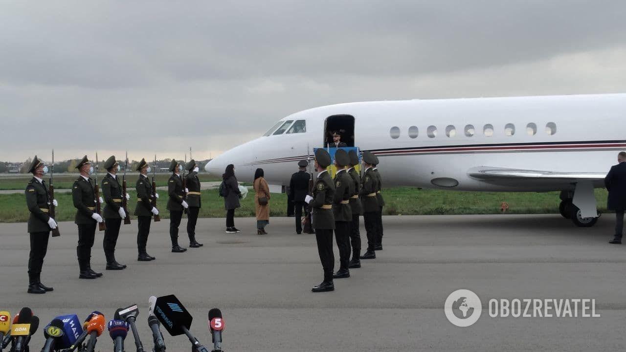 Марків повернувся в Україну.