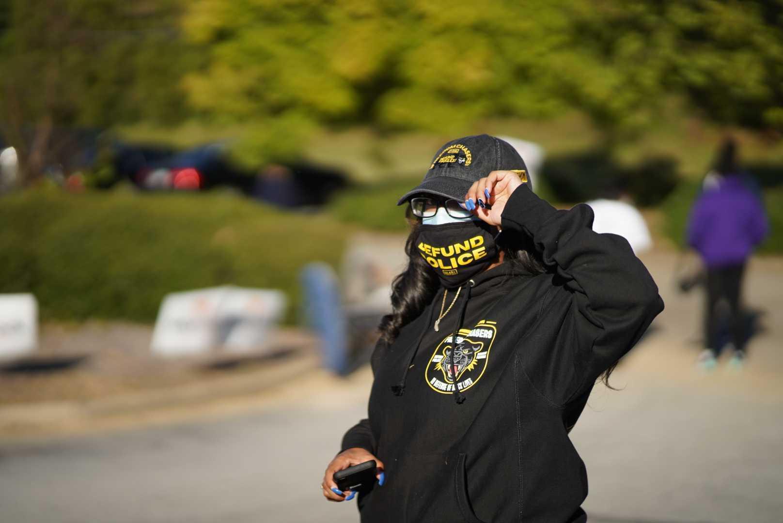 Правоохранительница в Атланте
