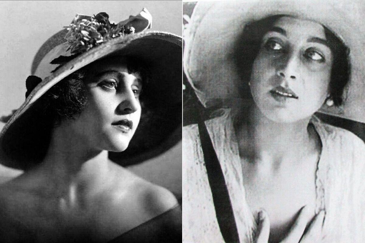 Икона стиля 1920-х Вера Холодная