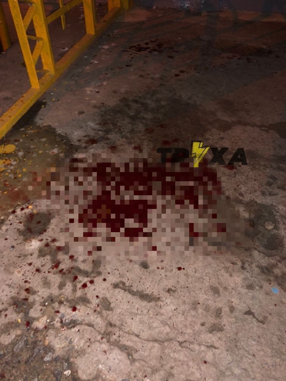 Місце події залило кров'ю.