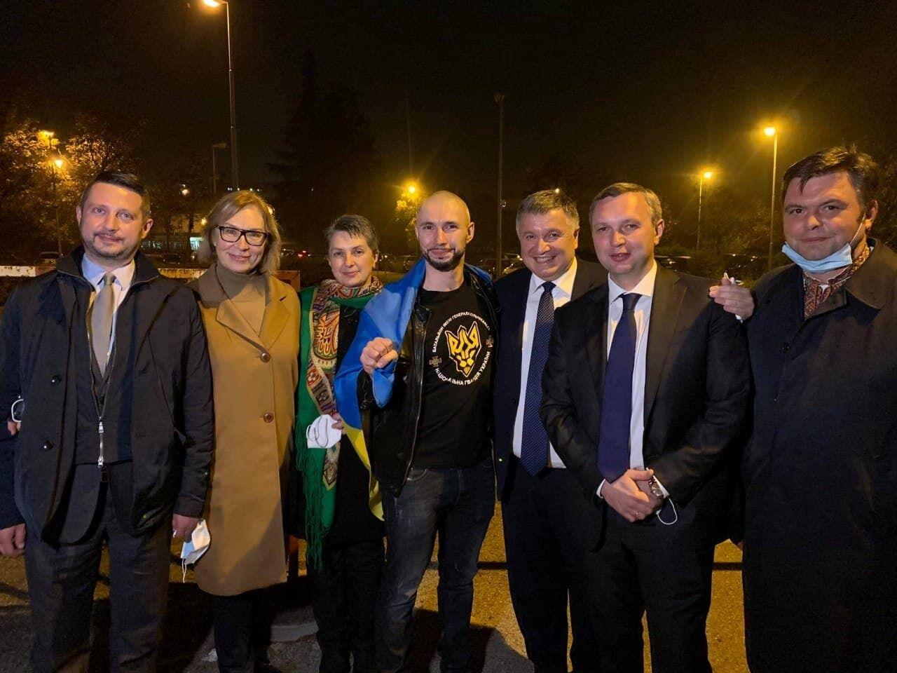 Марків із представниками української делегації
