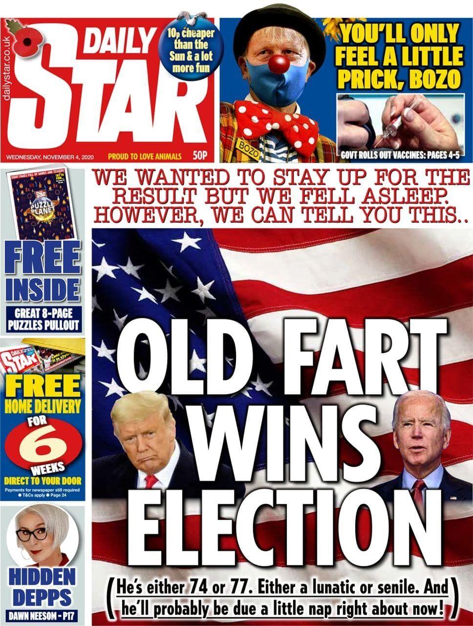 Daily Star в день после голосования