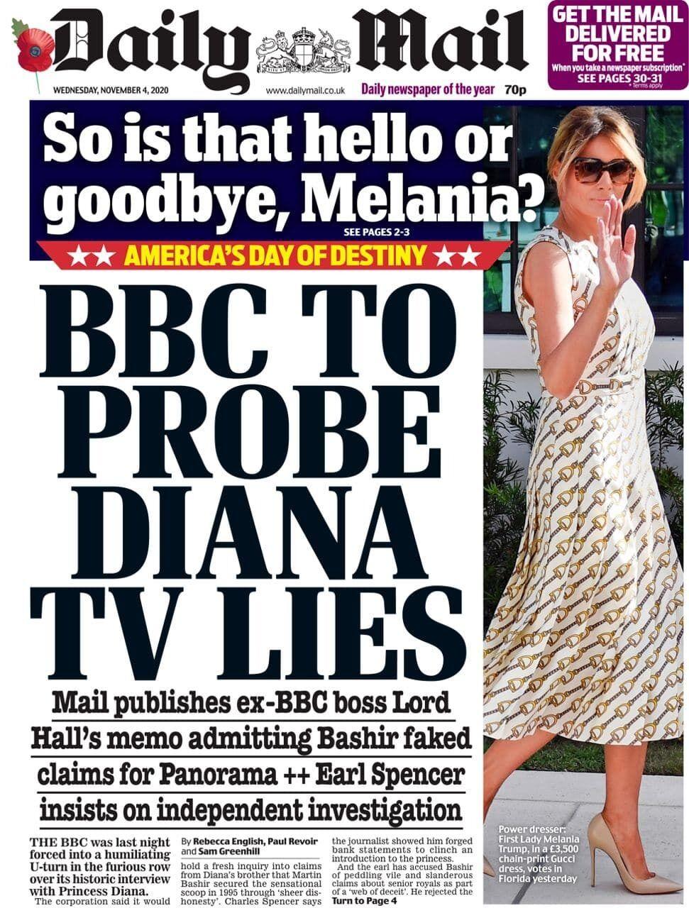 Daily Mail отреагировало на выборы шуткой о жене Трампа