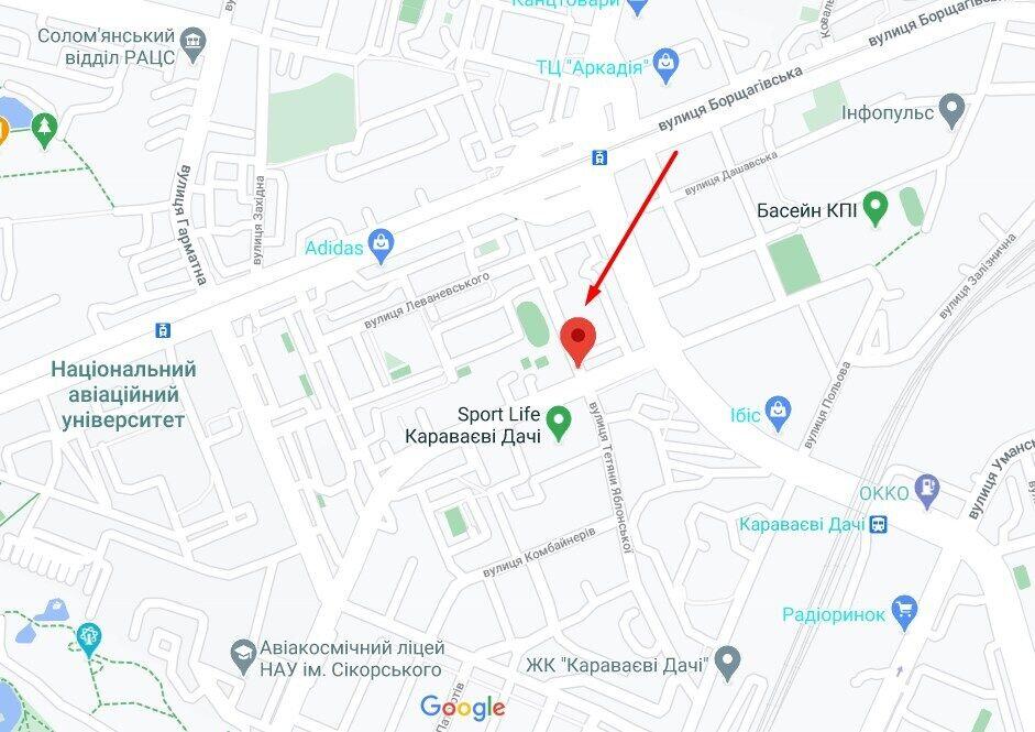 Грабитель напала на ул. Генерала Тупикова в Соломенском районе Киева