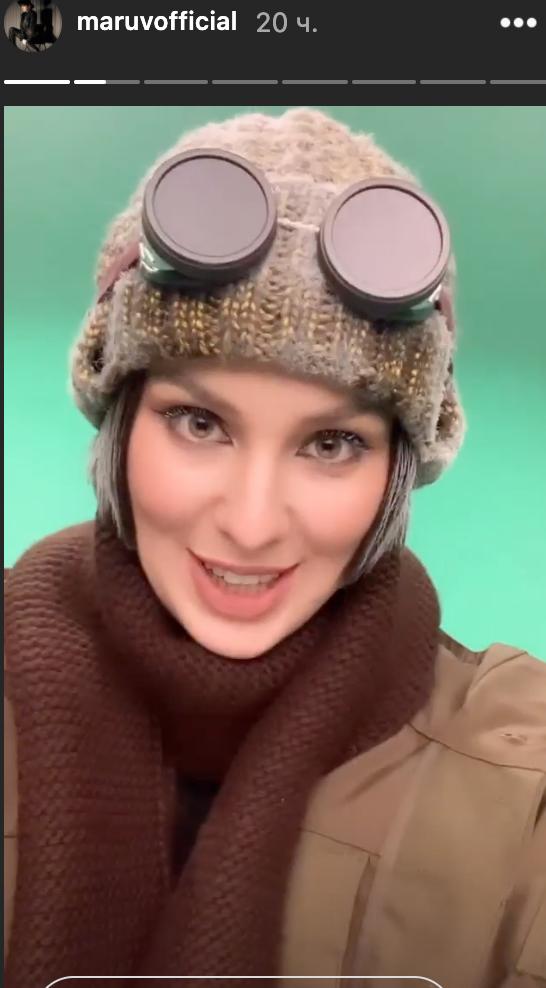 MARUV взяла участь у зйомках російського серіалу.