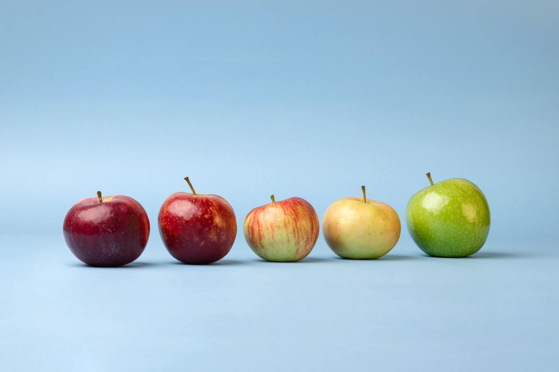 Потребление яблок помогает контролировать вес