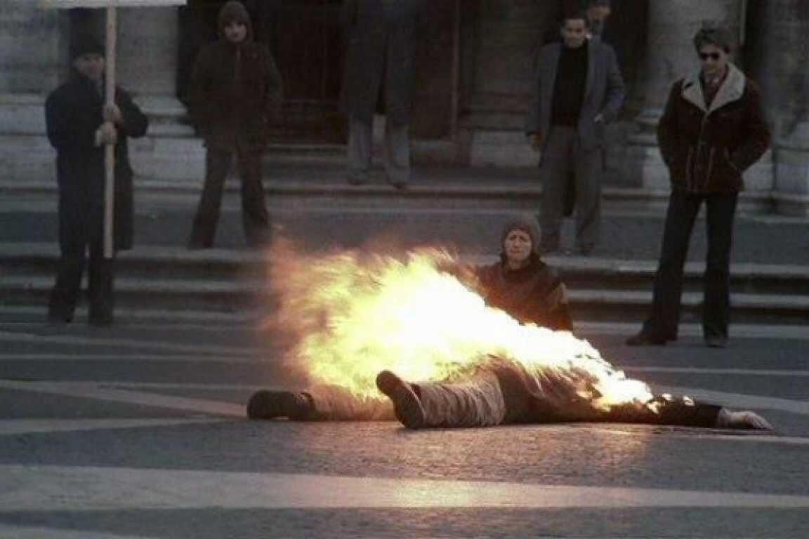 Василий Макух совершил самосожжение на Крещатике 5 ноября 1968 года