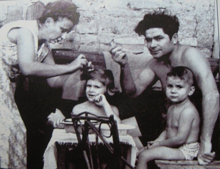 Василий Макух с семьей