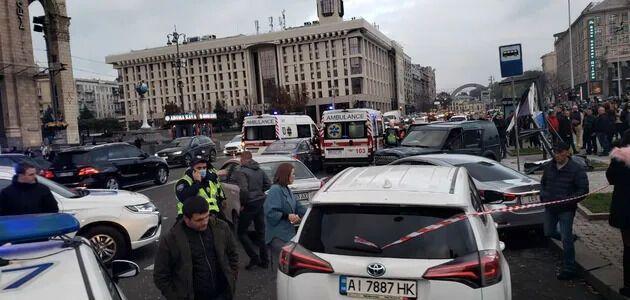 ДТП на Майдане произошло 30 октября.