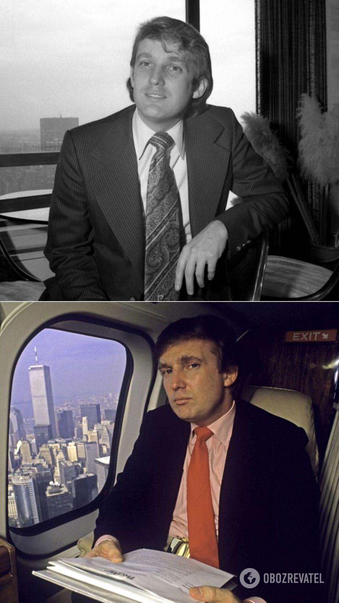 Трамп в 1976-м и 1987-м