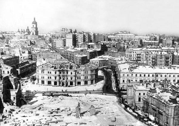Майдан Незалежности, Киев, 1943 год