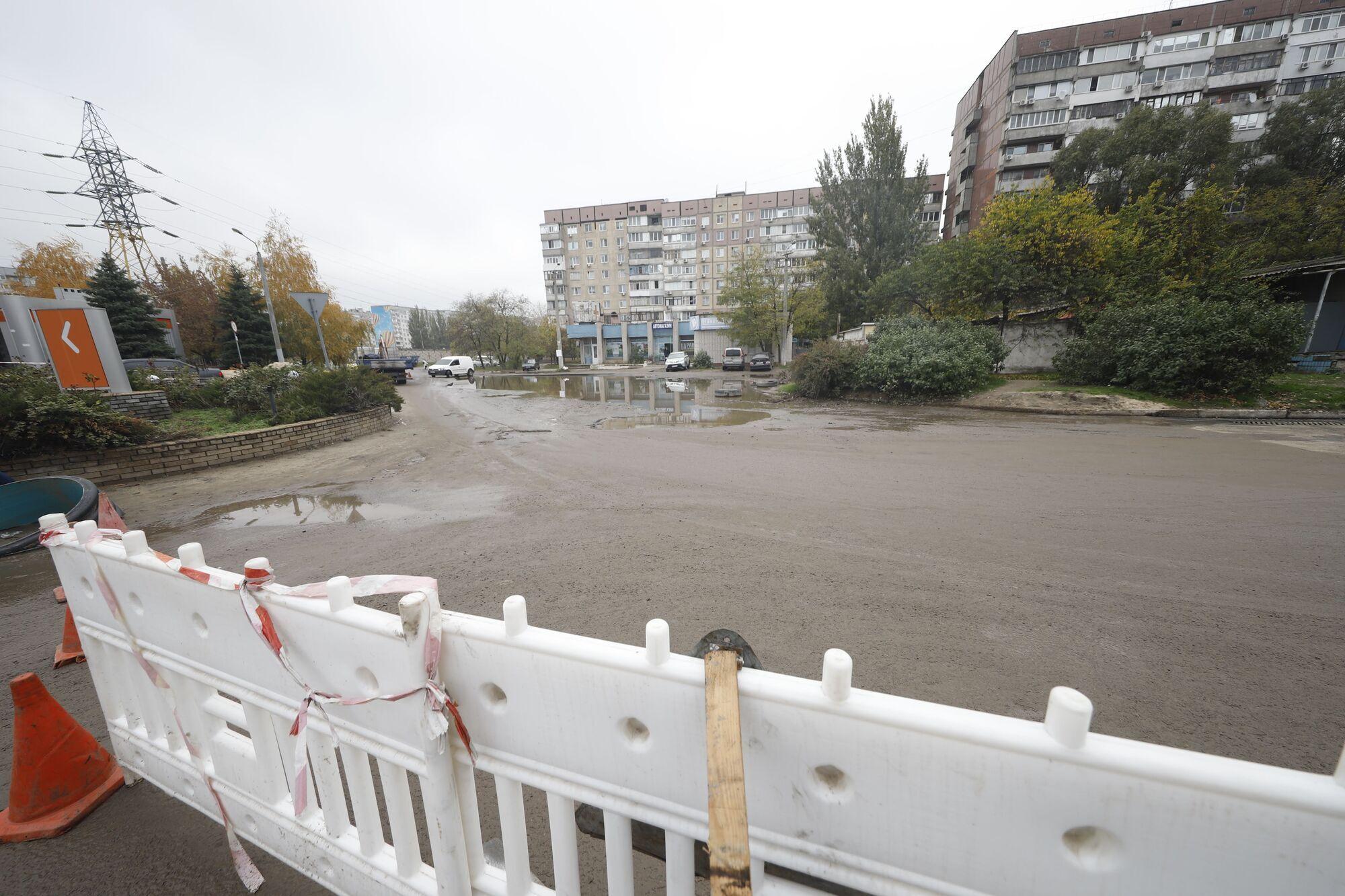 Власти в Днепре системно занимаются строительством новых систем дождевой канализации