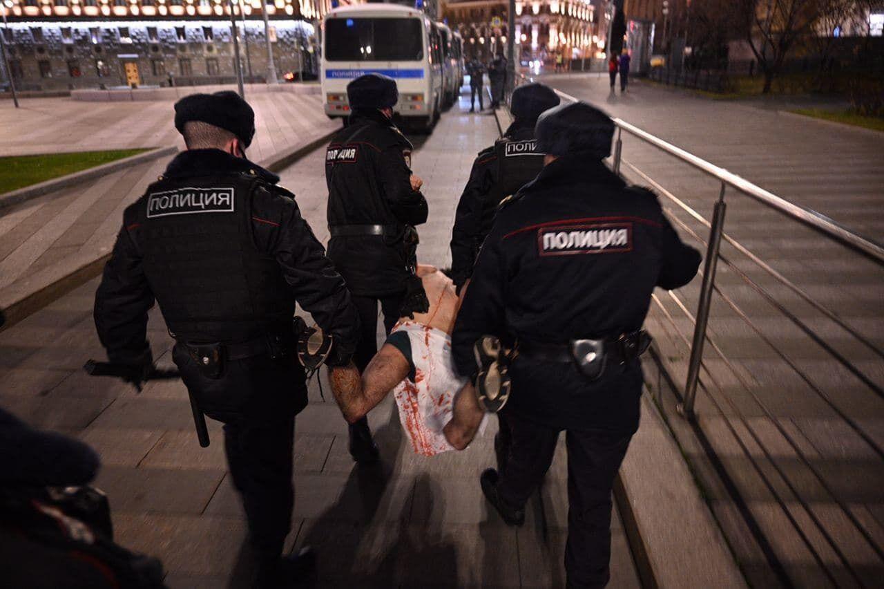 Правоохранители задержали активиста