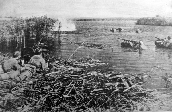 Переправа советских войск через Днепр, 1943 год