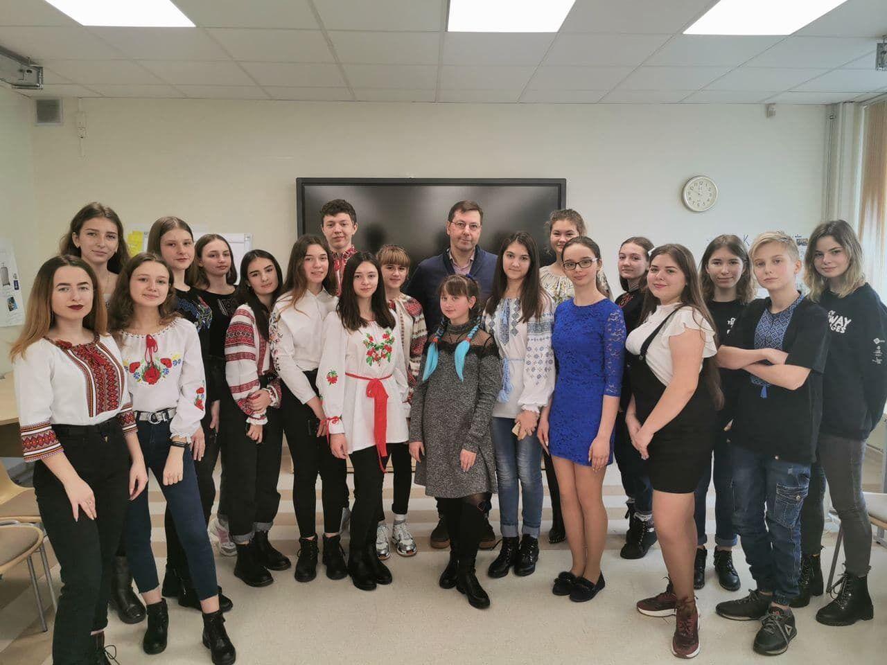 Українських школярів у Литві навчили соціально-емоційним навичкам