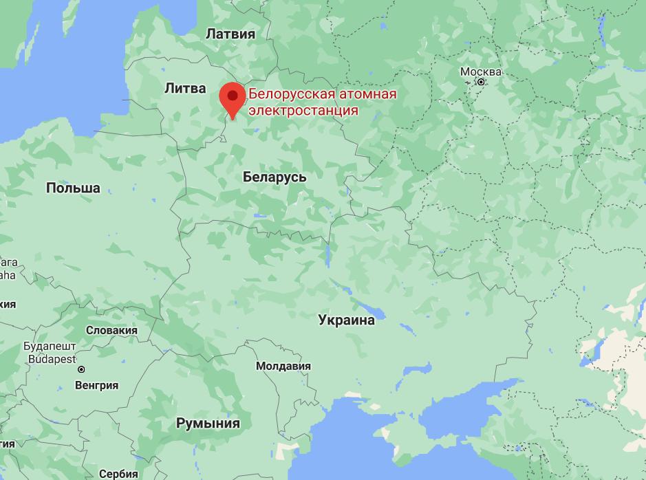Білоруська АЕС.