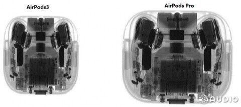 Сравнение кейсов AirPods