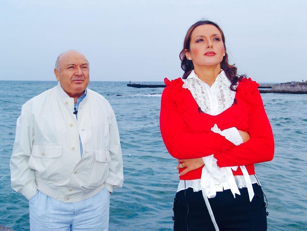 Оксана Марченко и Михаил Жванецкий