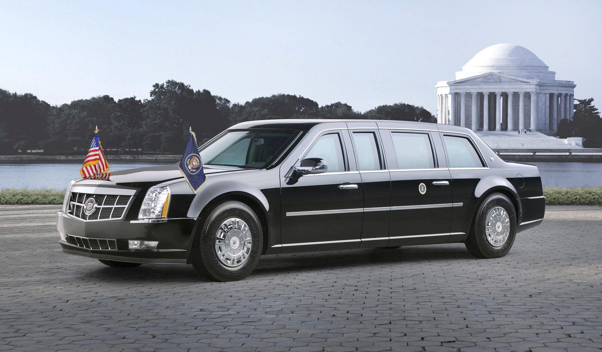 Cadillac 2009 року Президент США Барака Обами