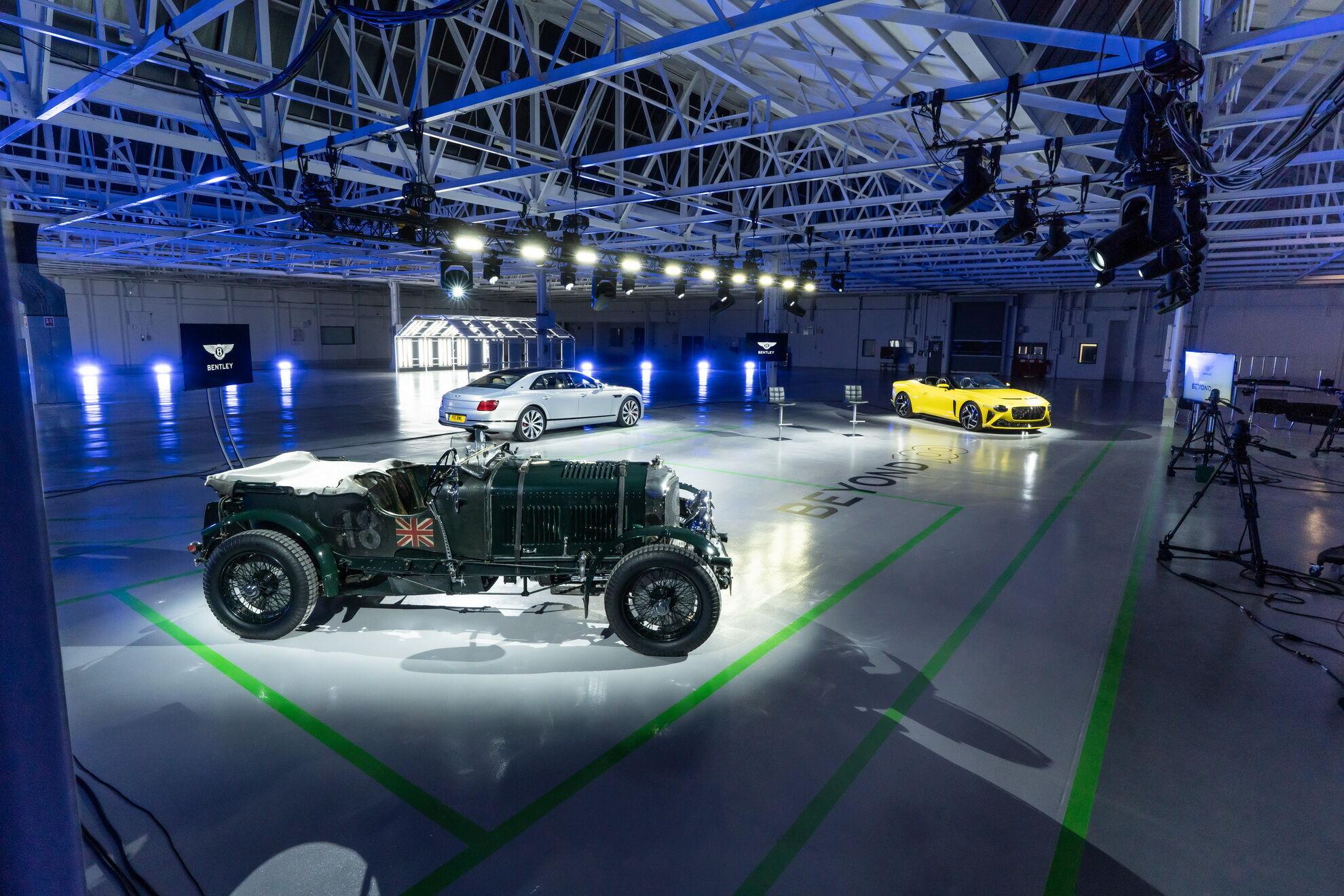 Представители Bentley поделились планами развития бренда