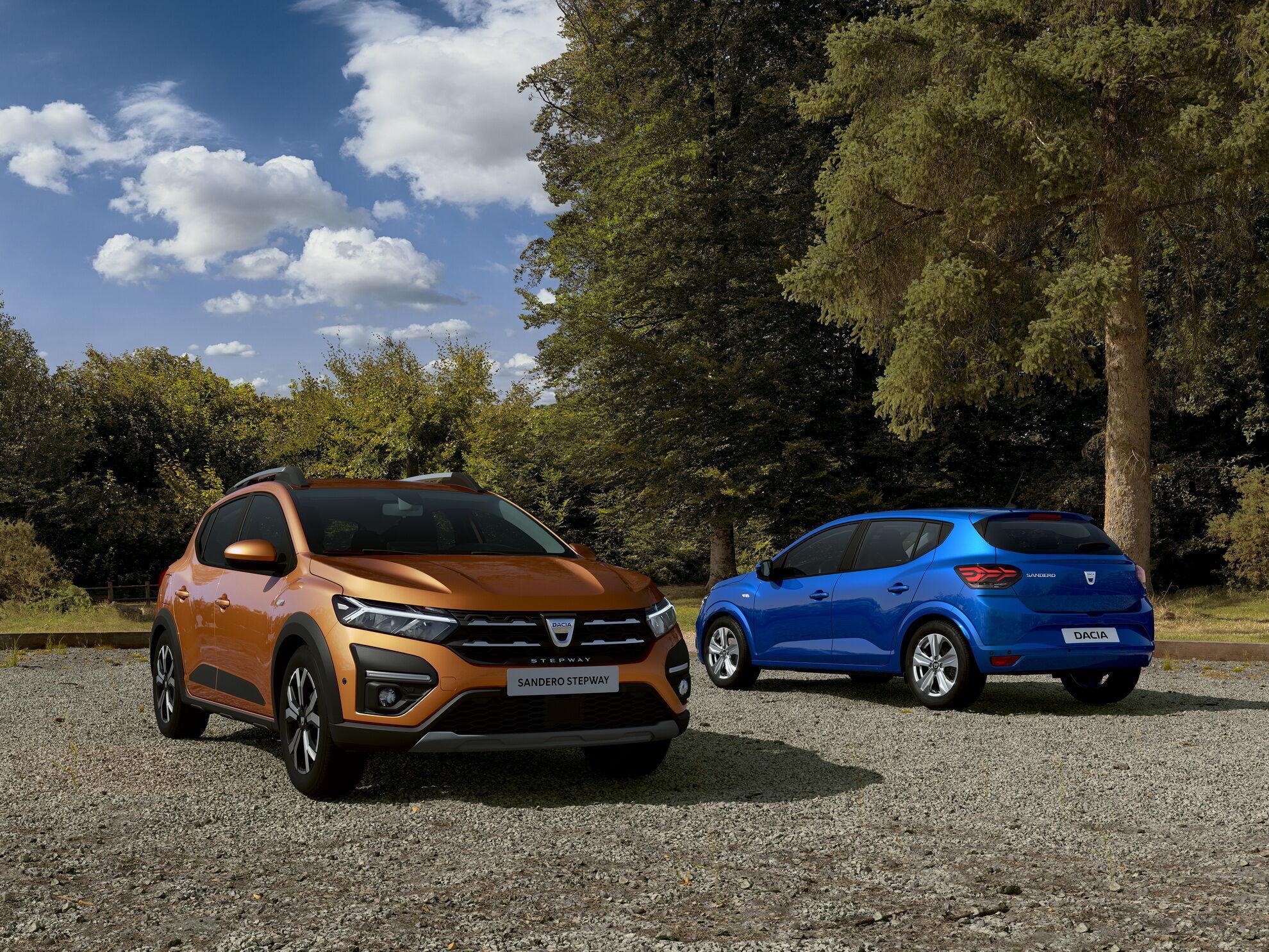 2021 Dacia Sandero і Sandero Stepway