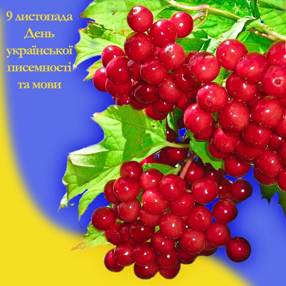 Открытка в День украинской письменности и языка