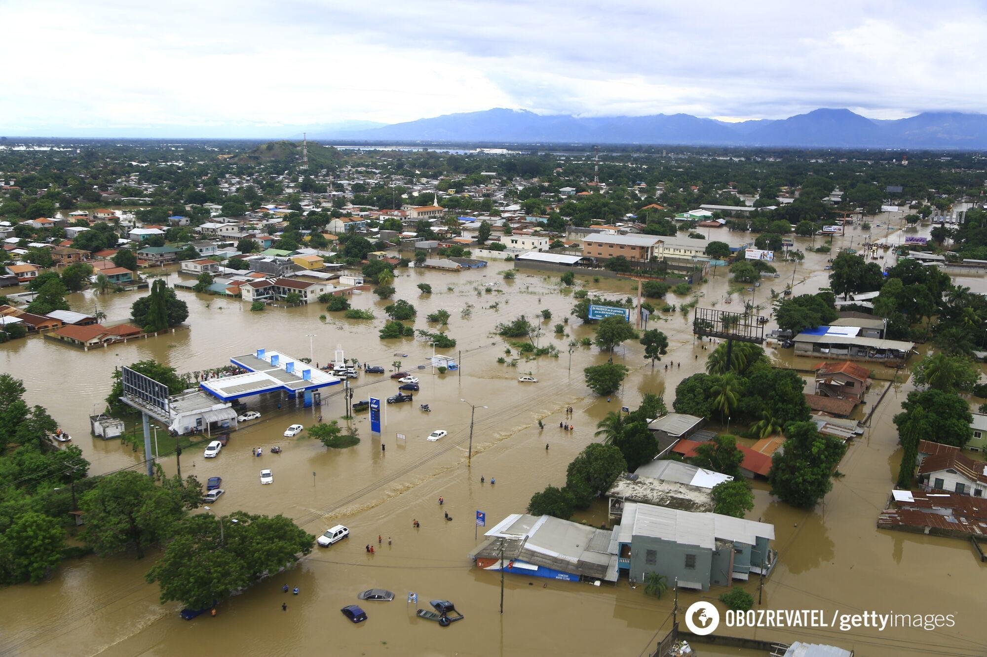 Из-за стихии в Центральной Америке погибли более 70 человек