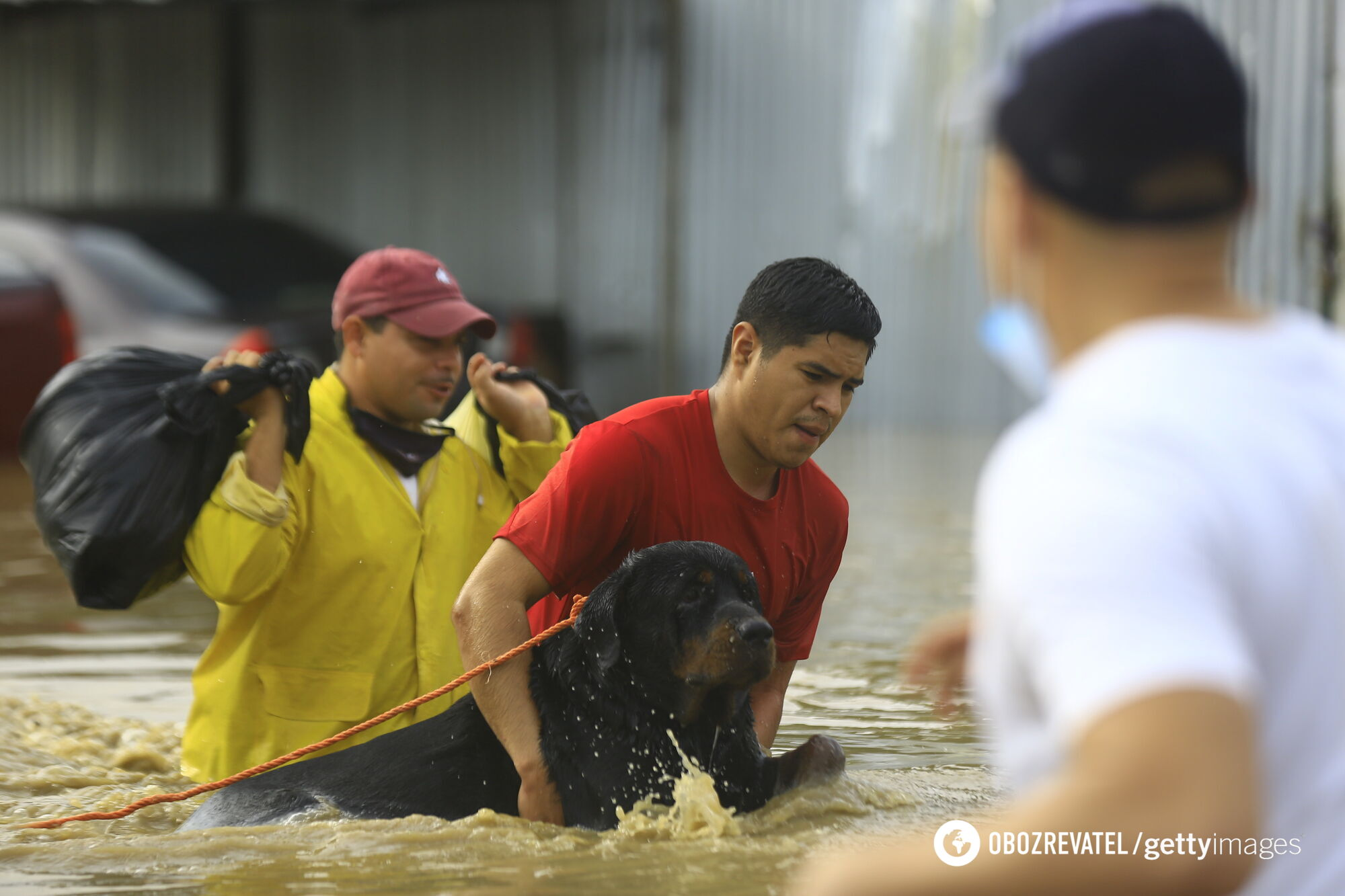 От урагана Эта пострадали Гондурас и Никарагуа