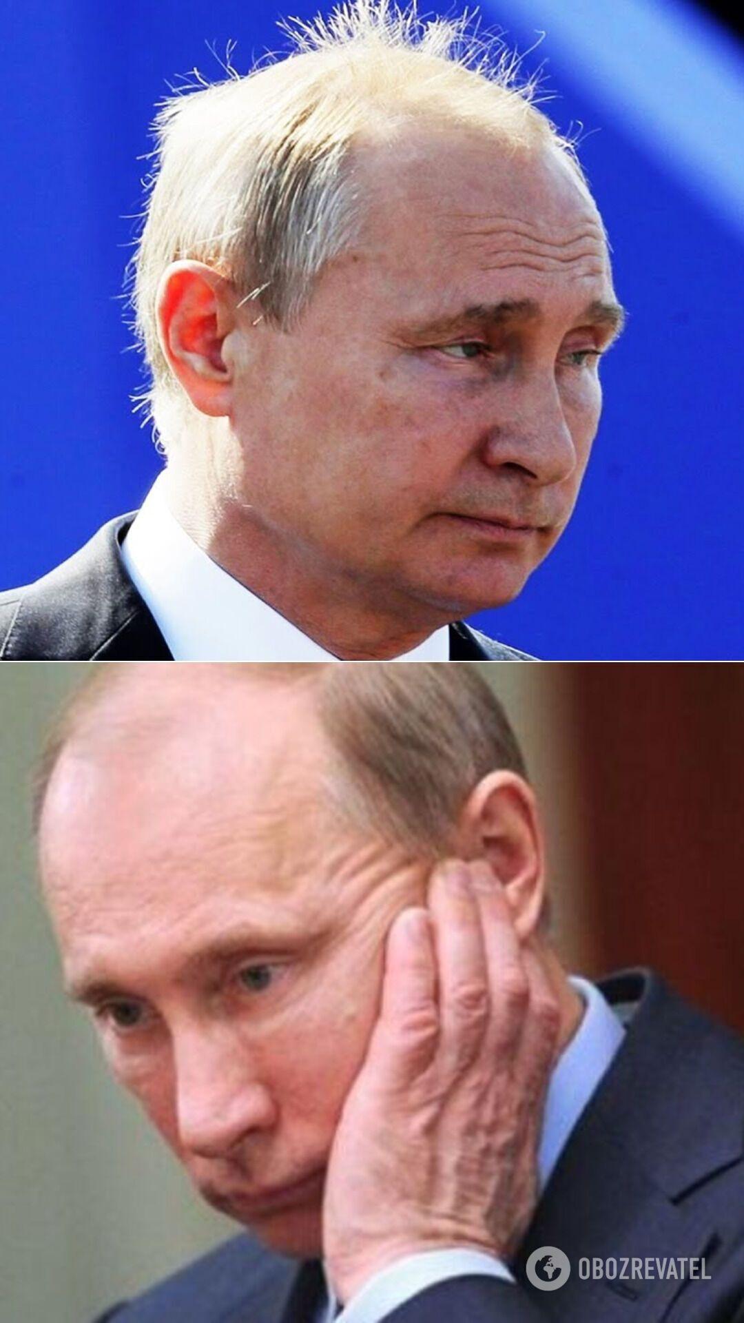 Западные СМИ приписывают Путину болезнь Паркинсона