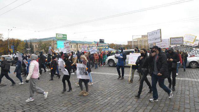 Протест підприємців у Харкові проти карантину