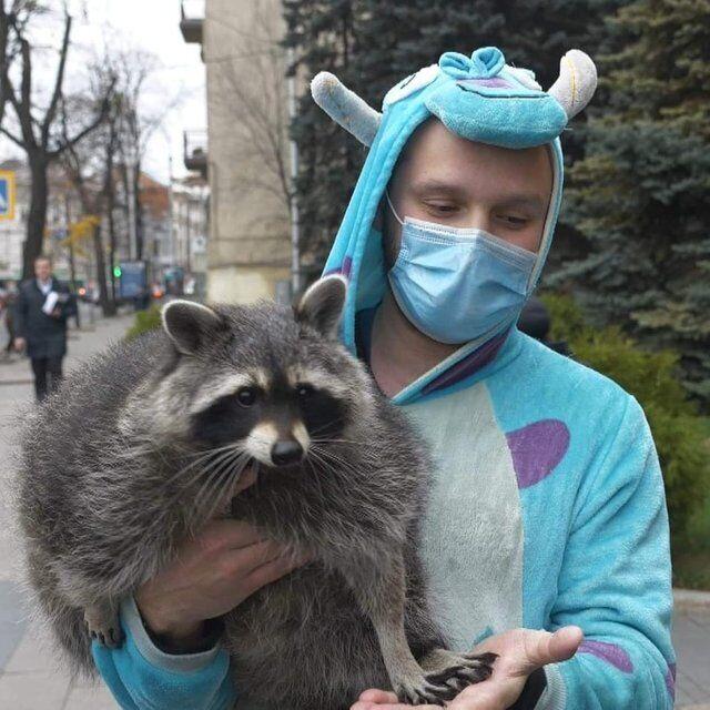 Протестувальники взяли із собою навіть домашніх тварин